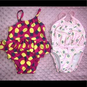 Other - Baby Girl Swimsuits 3-6 Months